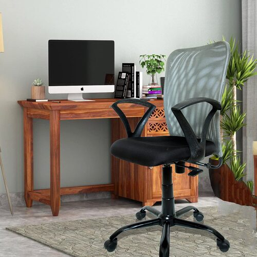 C83 Mid Back Mesh Fabric Office Chair