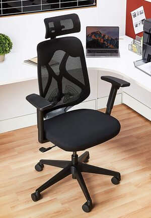 Solimo Elite High Back Mesh Office Chair